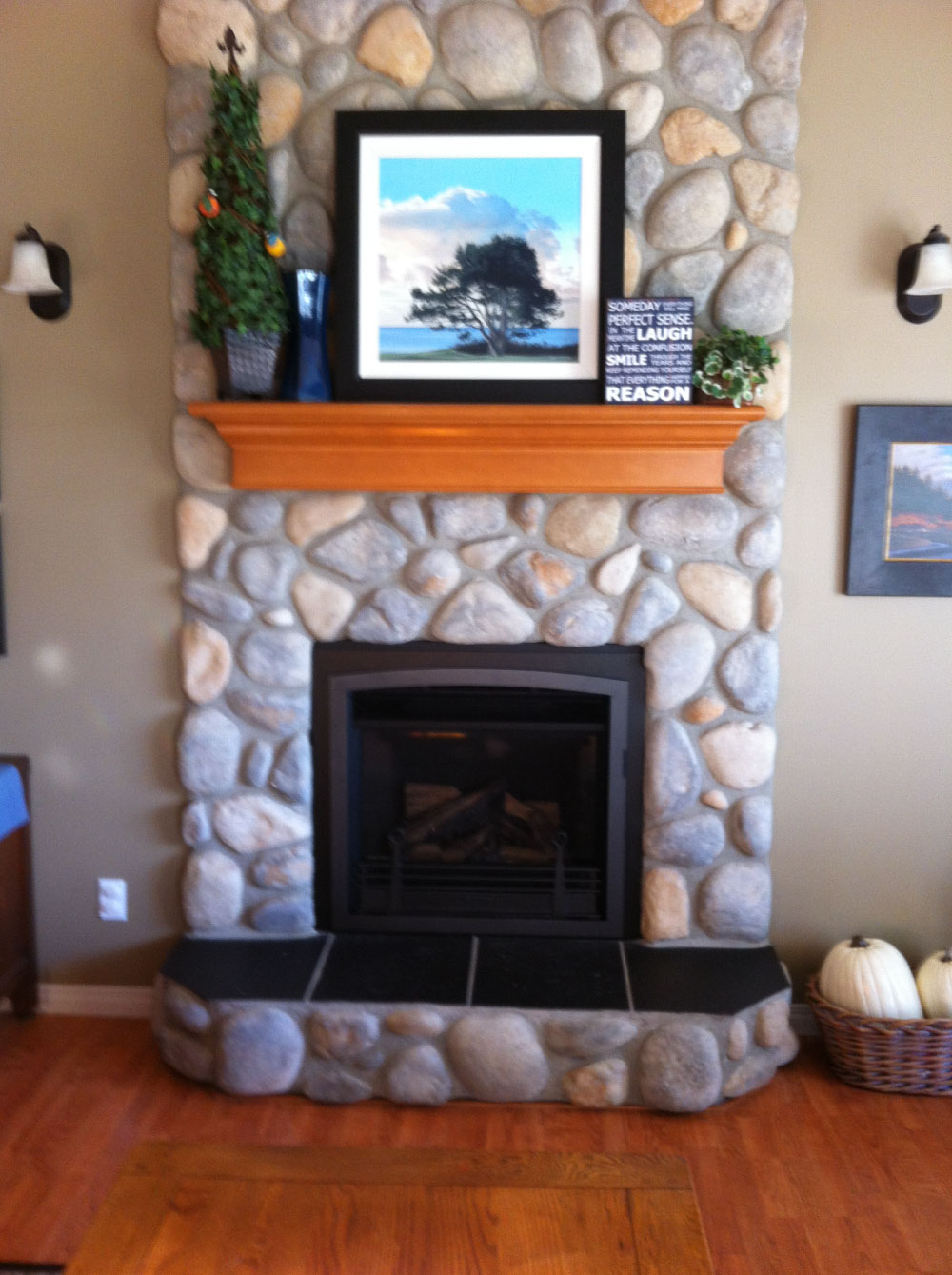 gas fireplace 27