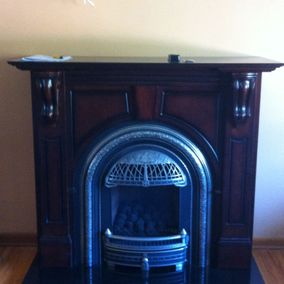 gas fireplace 40