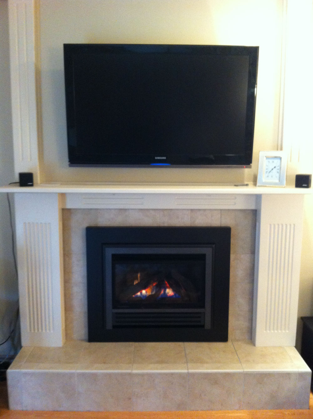 gas fireplace 36