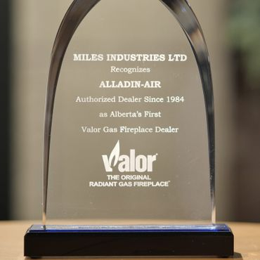 Alberta's First Valor Gas Fireplace Dealer