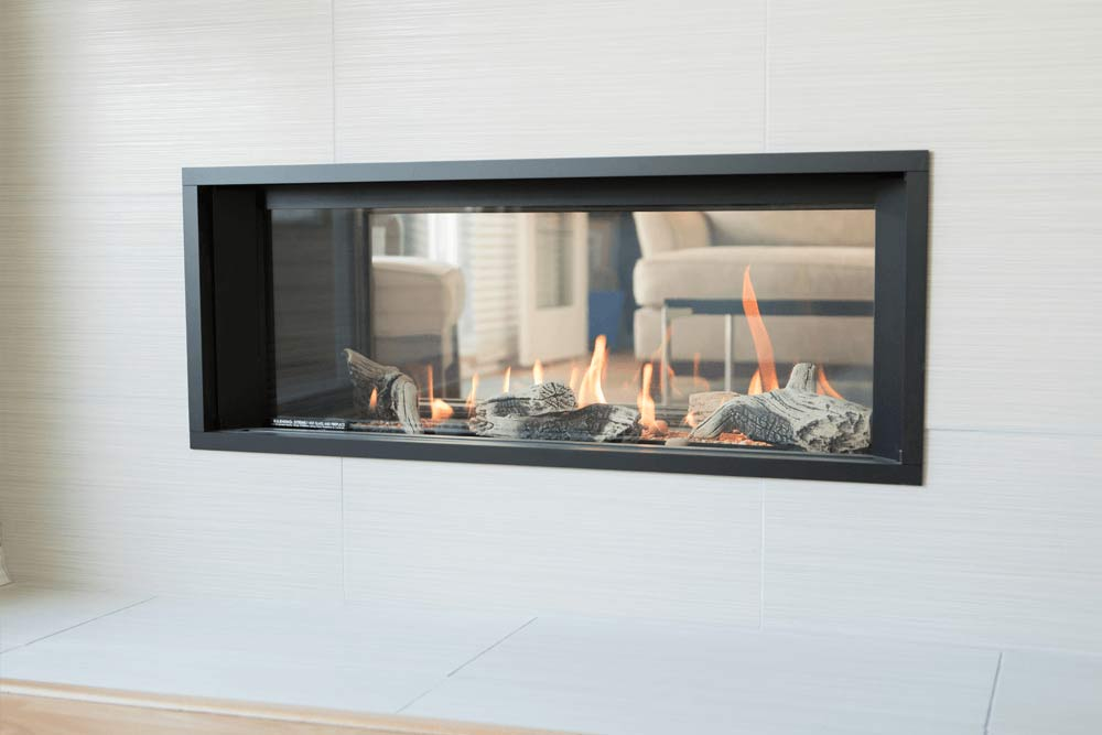 Two side Fireplaces