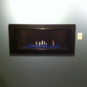 gas fireplace 44