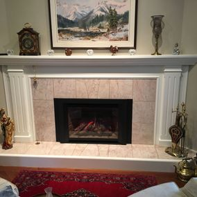gas fireplace 23