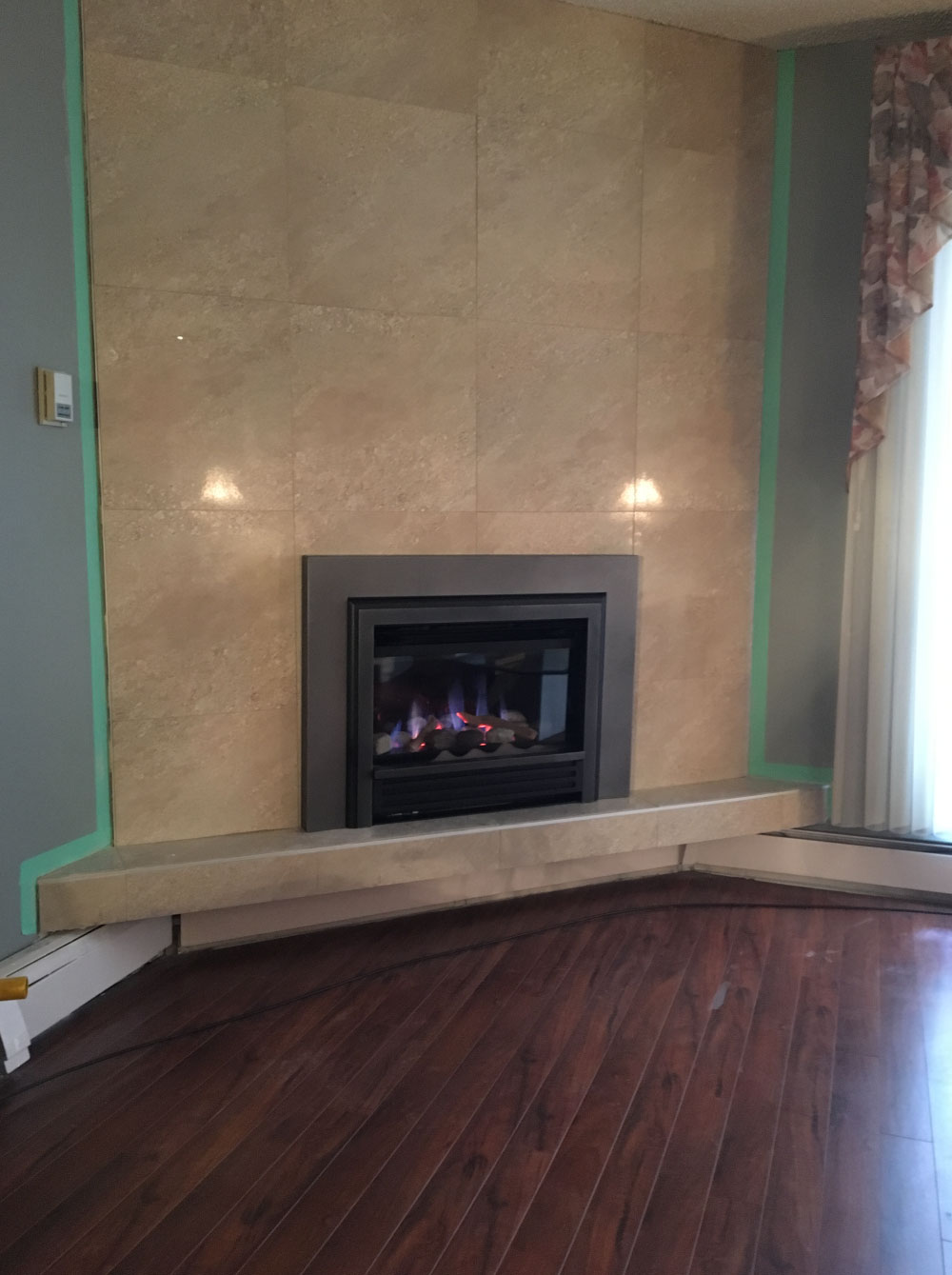 gas fireplace 25