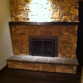 gas fireplace 29