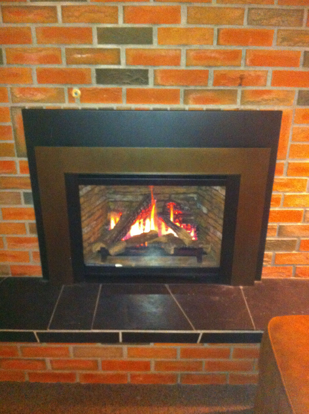 gas fireplace 39