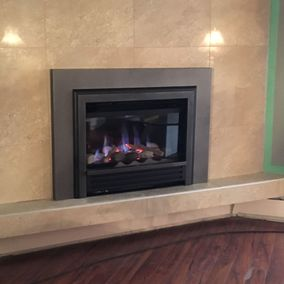 gas fireplace 24