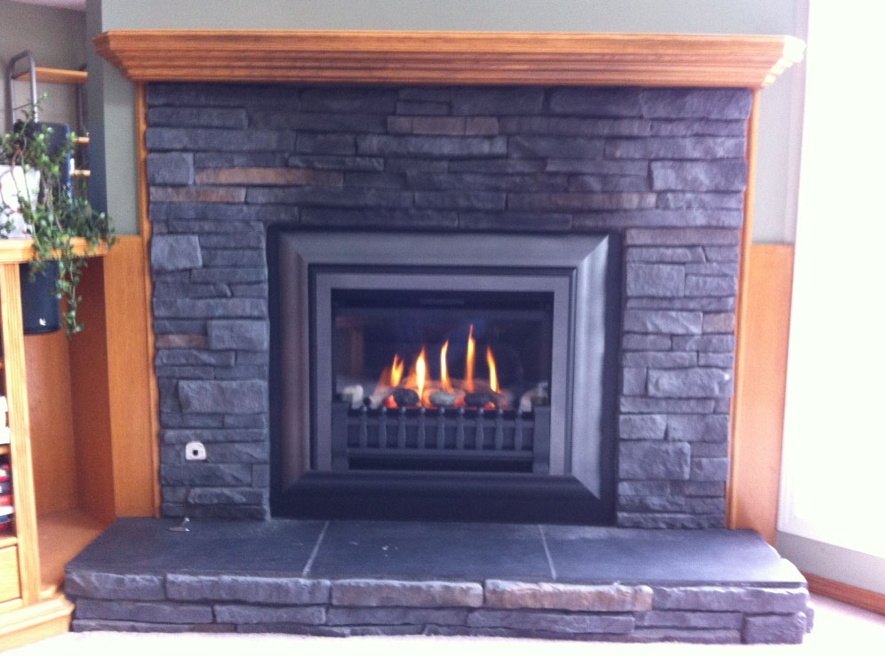 gas fireplace 18