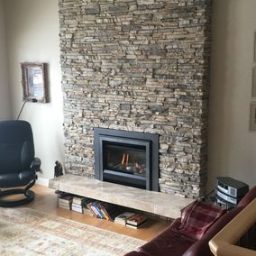 gas fireplace 22