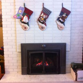 gas fireplace 26