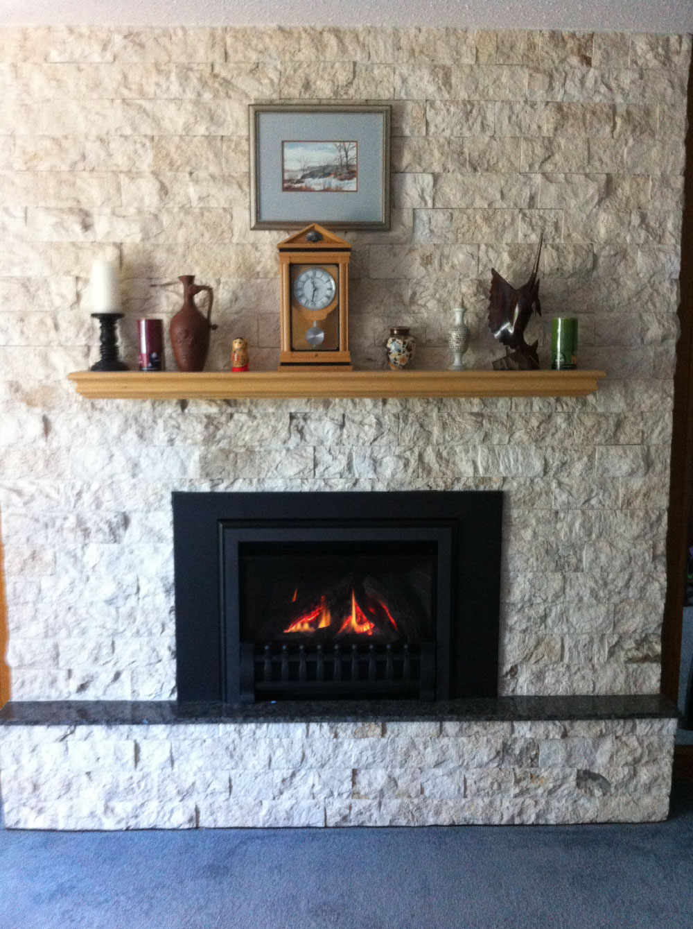 gas fireplace 31