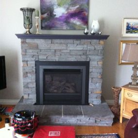 gas fireplace 21