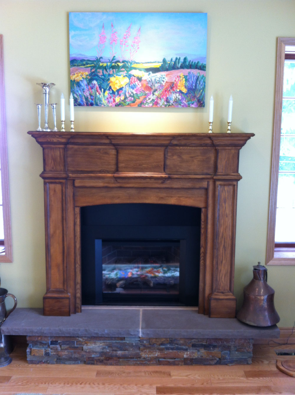 gas fireplace 43