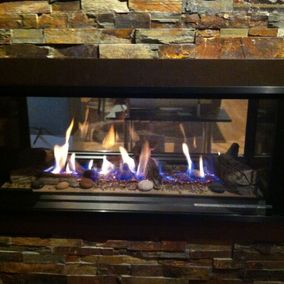 gas fireplace 28