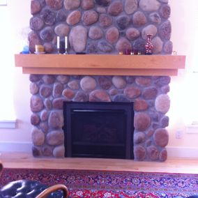 gas fireplace 46