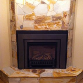 gas fireplace 42