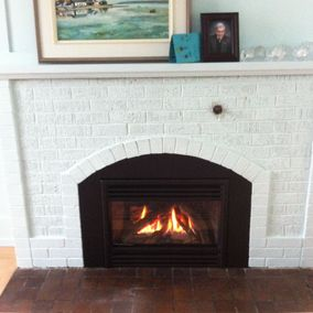 gas fireplace 45