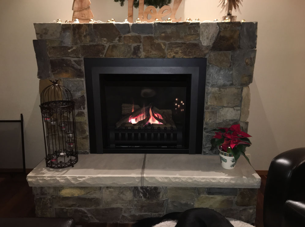 gas fireplace 11