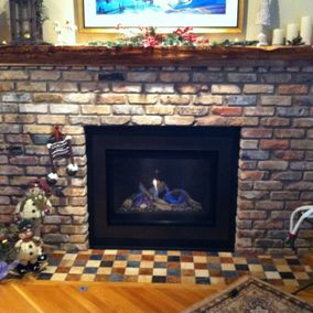 gas fireplace 17