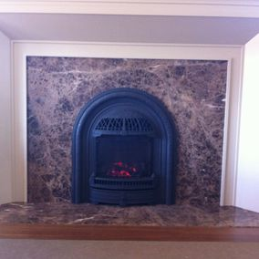 gas fireplace 16