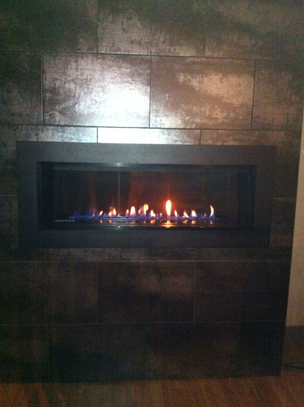 gas fireplace 34
